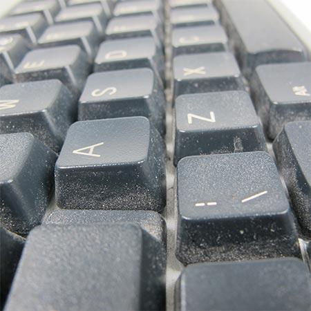 Before cleaning keyboard