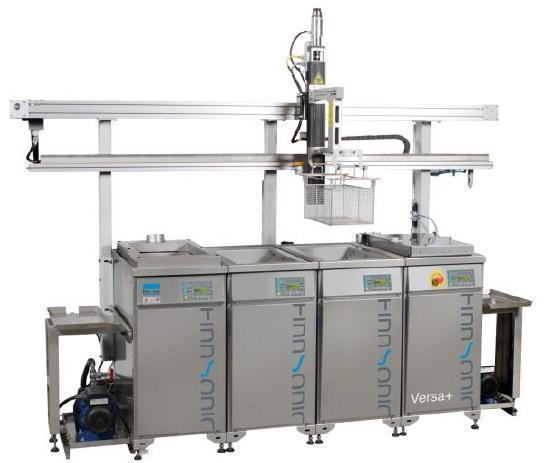 ultrasonic cleaning line transport device