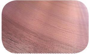 concentric grooved lapping plates