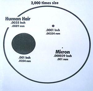 Human Hair Size In Mm 99