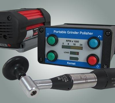 portable grinding for insitu replication