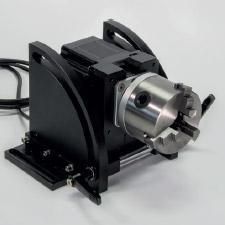 Rotary axis for laser marking