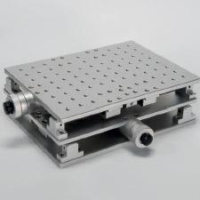 X-Y table for laser marking