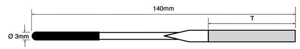 diamond needle file dimensions kpfl