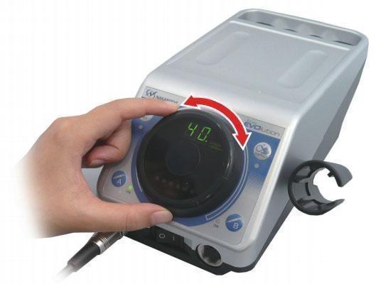 how to start stop nsk emax evo motor