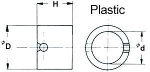 plastic lapping rings