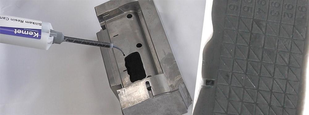 surface finish inspection with silikem