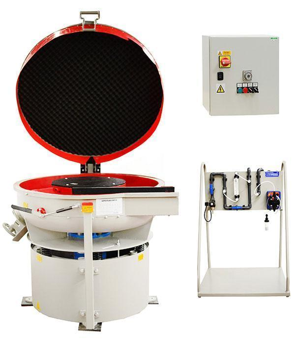 vibratory tumbler finishing machine